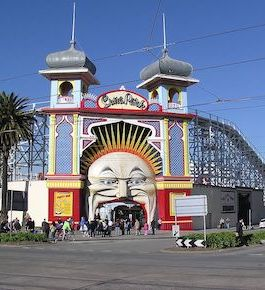 Taxi Cab For Melbourne Luna Park