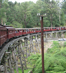 Day Trip To Puffing Billy