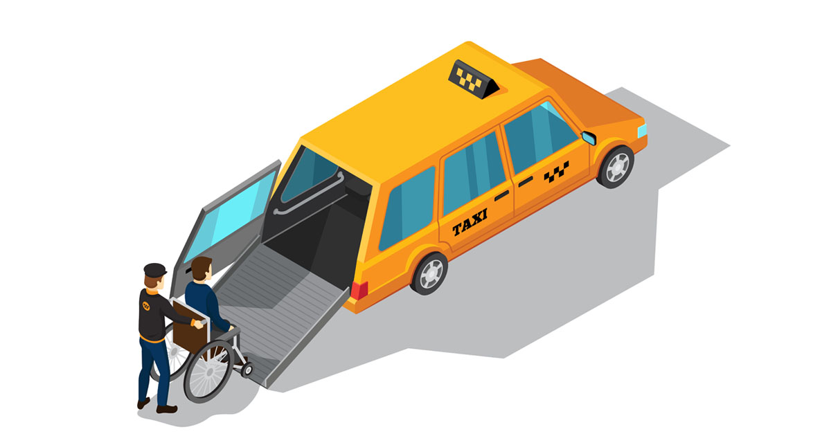 Wheelchair Taxi Maxi
